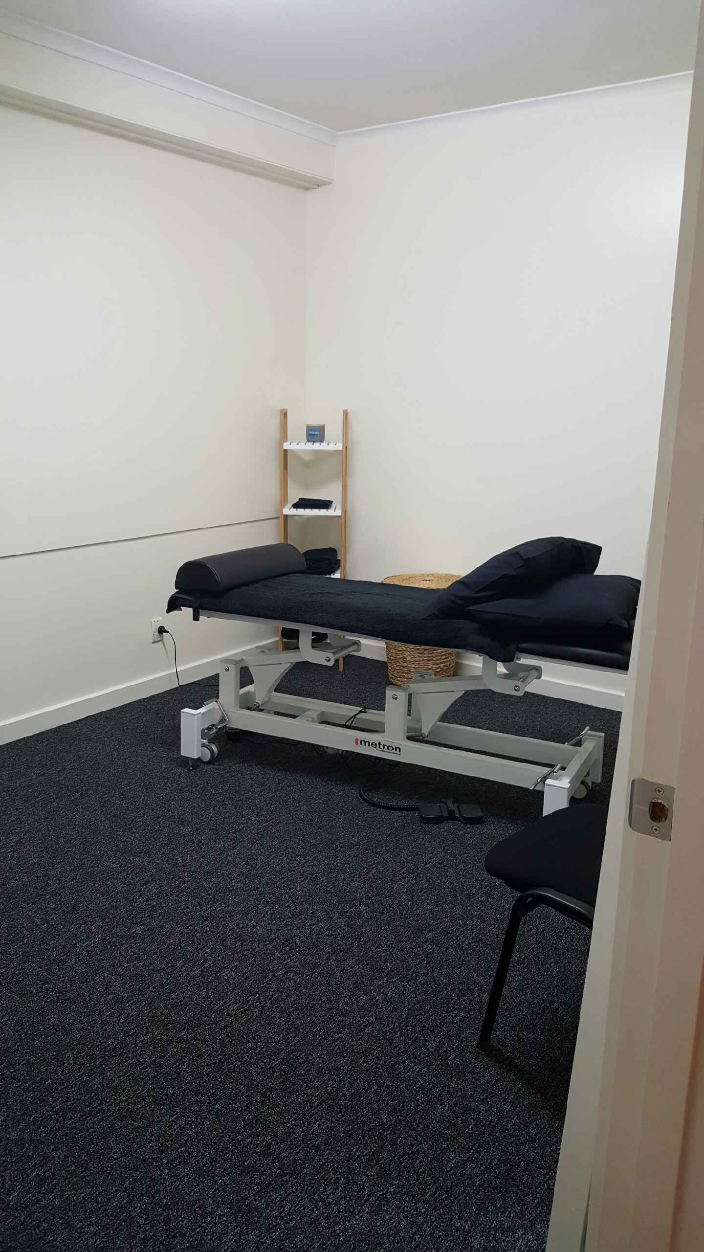 Massage room to suit masseuse or allied health professional at